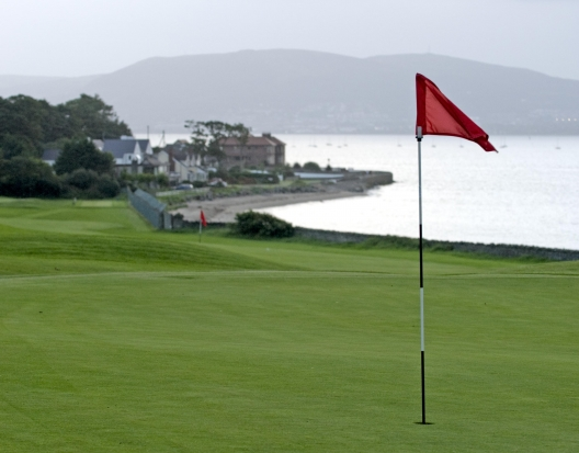 View from the 6th green